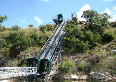 Commercial incline elevator, Lakeway TX