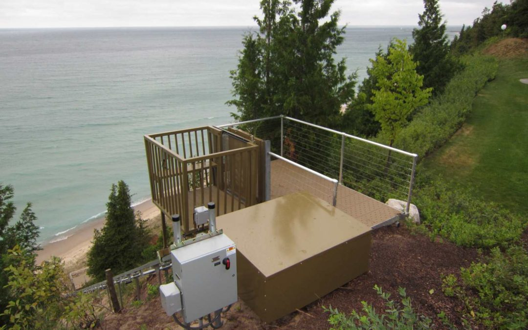 What to Expect when Installing a Residential Hillside Lift