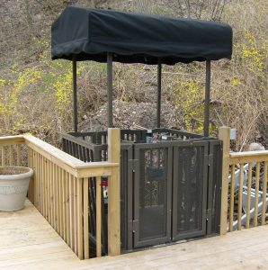 Marine Innovations bi-fold landing gates