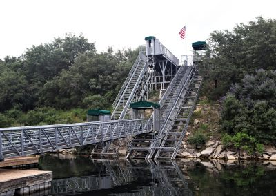 NorthShore Marina Dual Lake Tram Systems