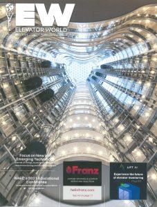 Elevator World July 2021 Cover